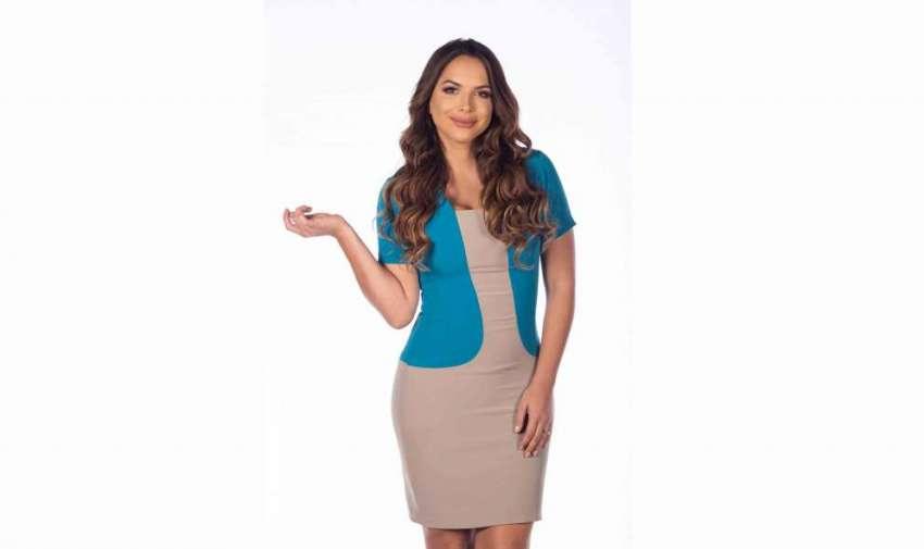 Carla Estefanía Galindo de Vaca, la mejor asesora comercial (vendedora) en una urbanización.