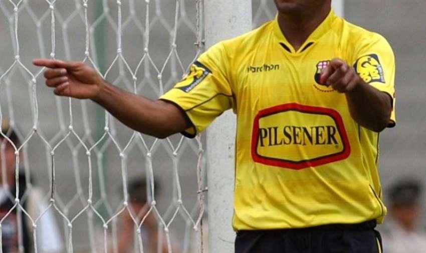 Ángel Fernández jugó en 2005 en Barcelona.
