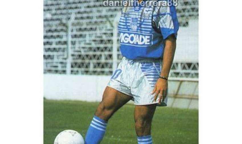 """El """"Cuchillo"""" estuvo 7 temporadas en Emelec, desde 1992 al 1999."""