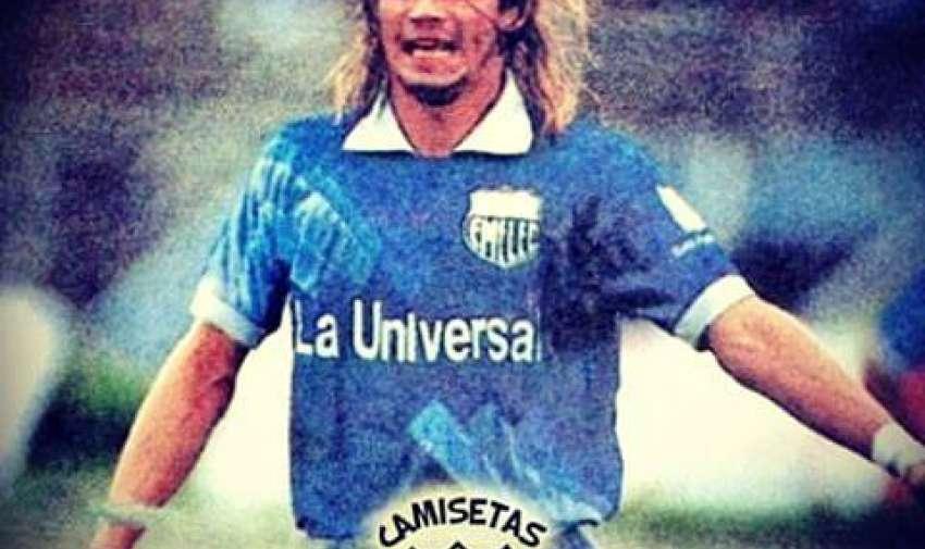 Saralegui pasó en 1991 por Emelec.