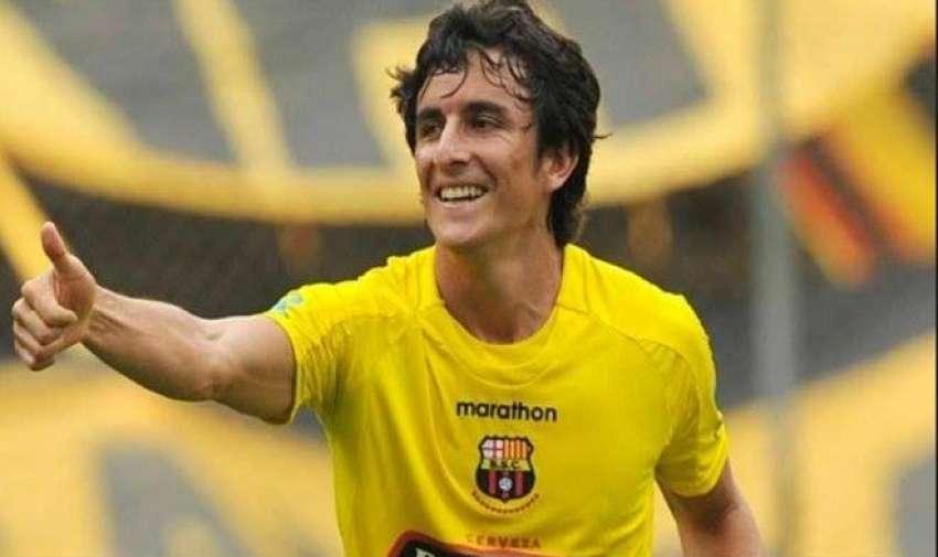 Pablo Palacios fue goleador y figura de Barcelona en 2008 hasta 2011.