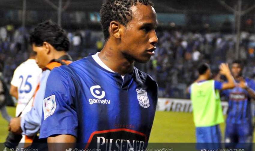 Angulo pasó por Emelec en 2013.