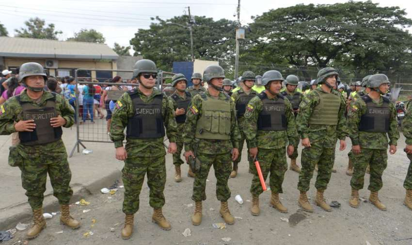 GUAYAQUIL, Ecuador.- Esto sucedió en medio del estado de excepción que rige en las cárceles del país desde el 16 de mayo. API