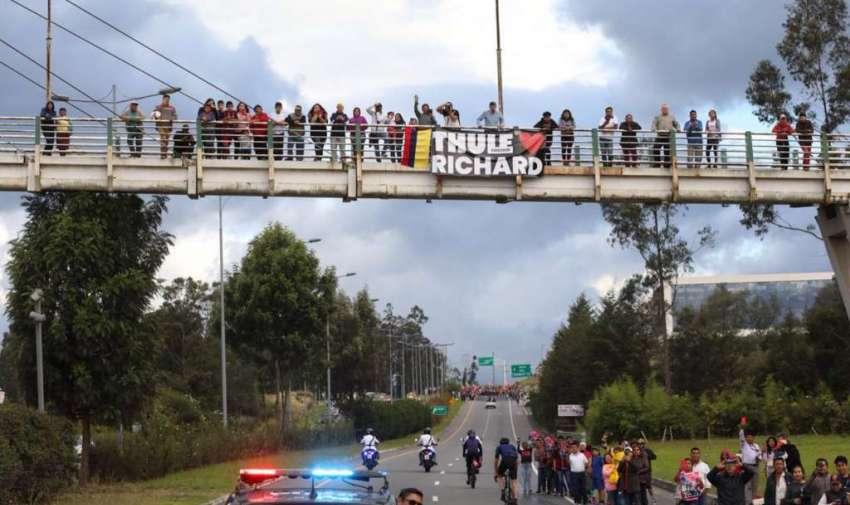 Richard en Caravana