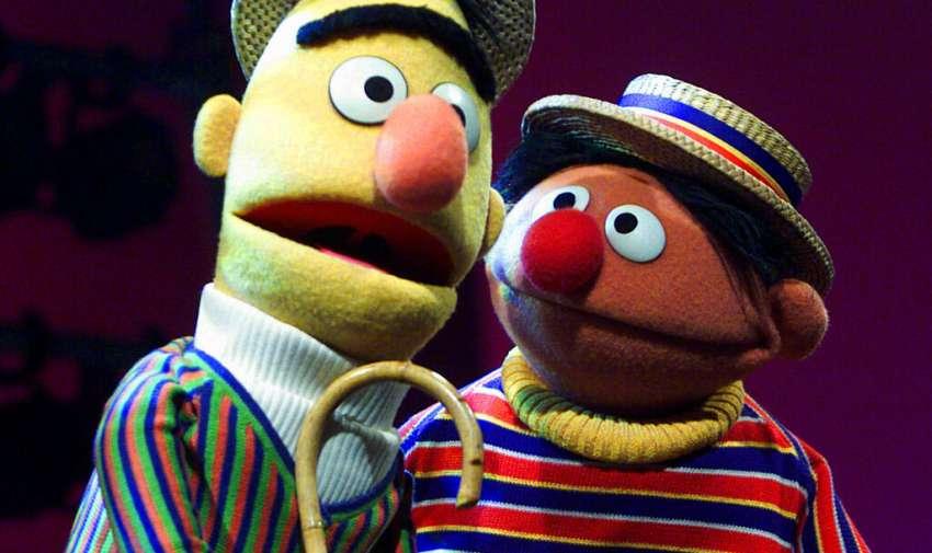 Bert, a la izquierda, y Ernie, en Nueva York. Foto: AP