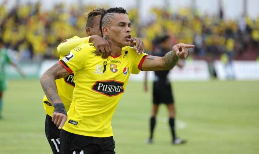 El delantero uruguayo jugó el año anterior en Liga de Quito. Foto: API