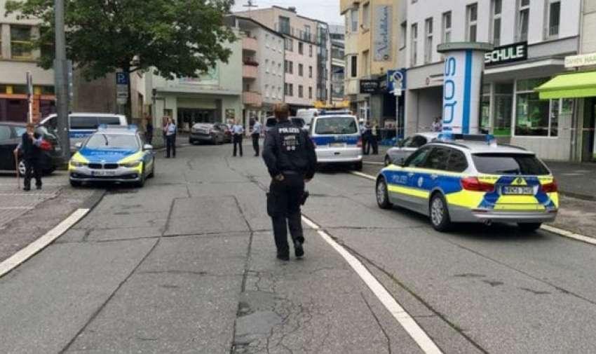 El agresor está prófugo. Aún no se sabe si se trata de un episodio terrorista. Foto: Redes