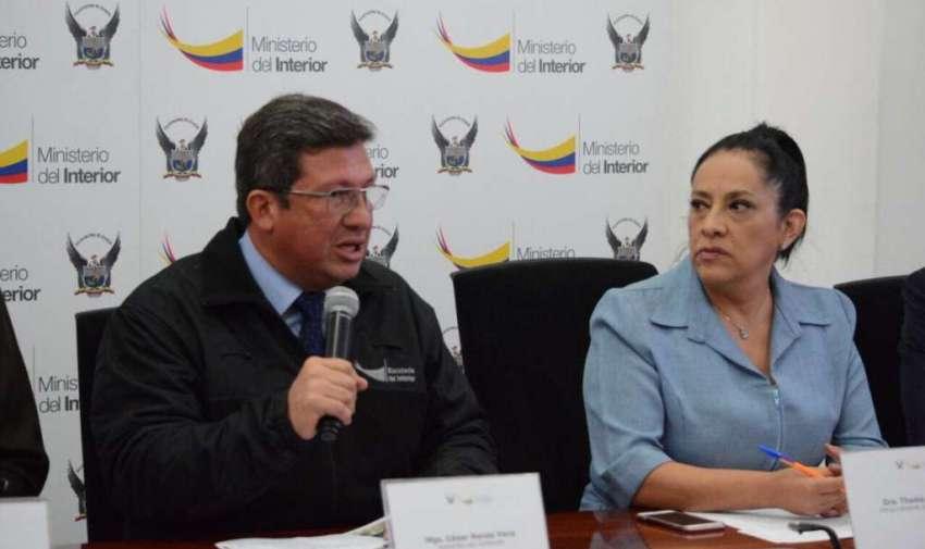 Cae presunta red que tramitaba documentos de tránsito en 9 provincias. Foto: Fiscalía Ecuador