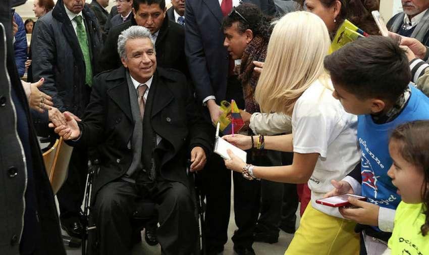 ECUADOR.- El 24 de mayo de 2017, Lenín Moreno asumió la presidencia de Ecuador. Foto: Archivo