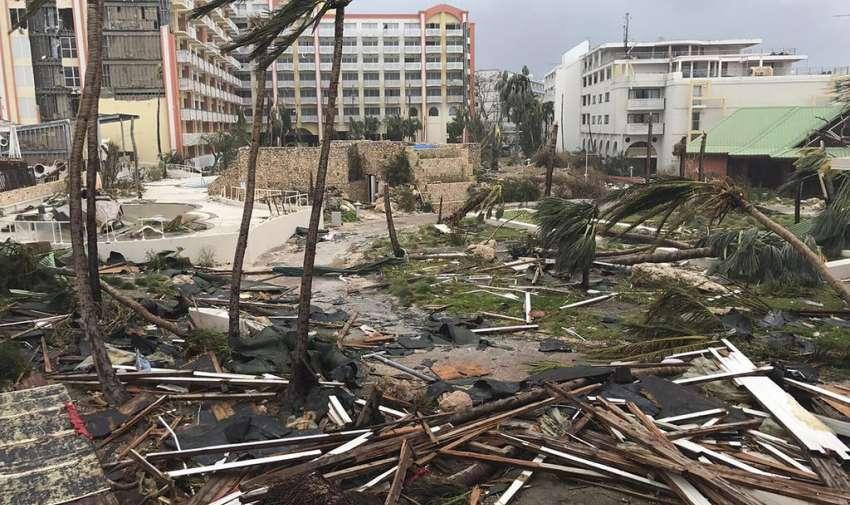 La temporada del 2017 del Atlántico será recordada por un año de tormentas mortales. Foto: AFP