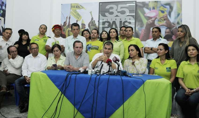 Las disputas entre varios de sus dirigentes fracturaron al partido oficialista en 2017. Foto: API