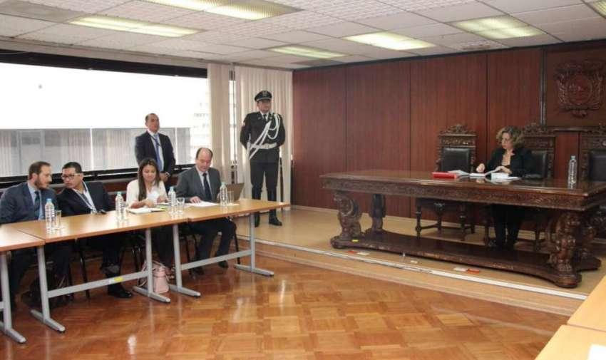 Los jueces Marco G., Luis M. y Carlos P. son investigados por delito de prevaricato. Foto: Twitter Fiscalía