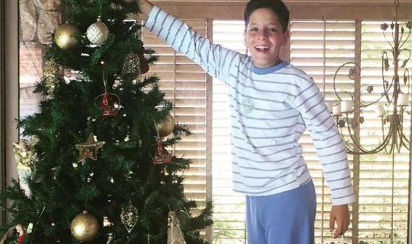 El hijo de Máximo Menem y Cecilia Bolocco será operado de un tumor cerebral.