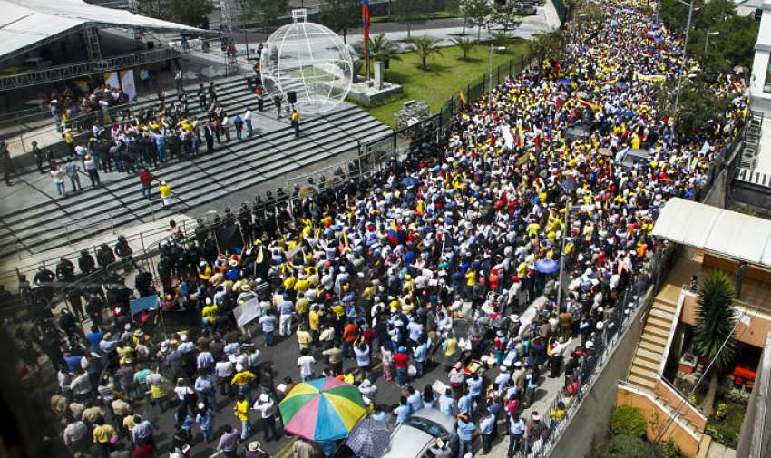 Gremio busca diálogo y pide reunión con el presidente Moreno. Foto: Archivo API