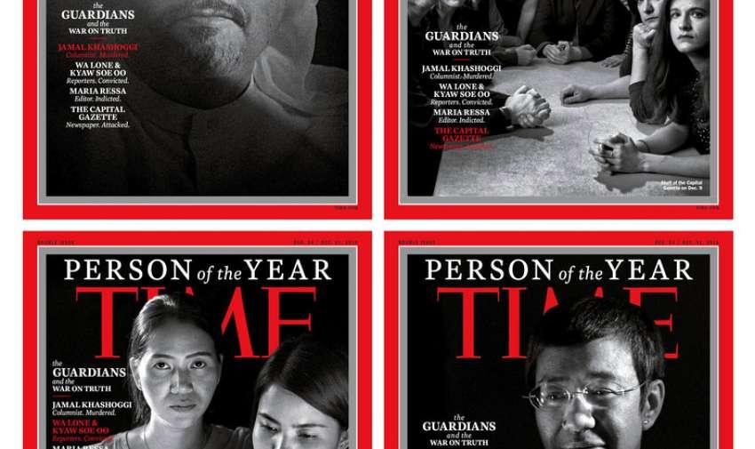 Time reconoce a un grupo de personas que más influyó en las noticias. Foto: AP