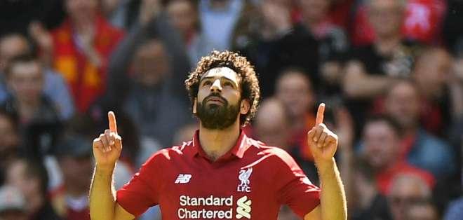 Mohamed Salah, figura del Liverpool.
