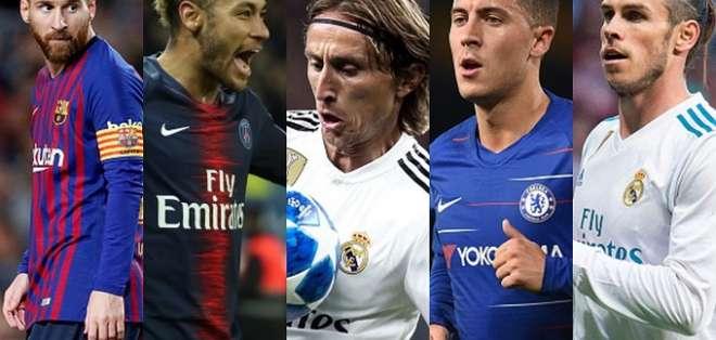 """El diario británico """"The Guardian"""" ha elegido al jugador del Real Madrid, Luka Modric (Croacia)."""