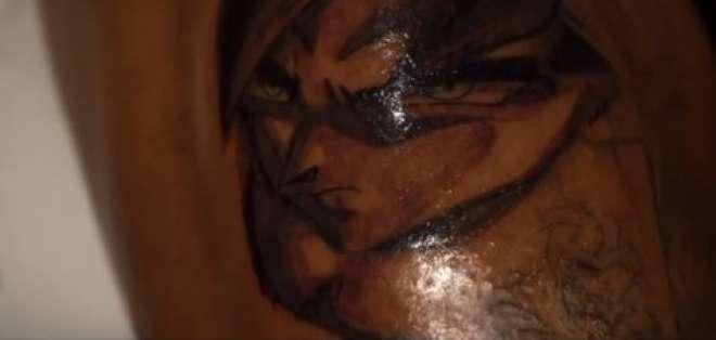 Reconocido jugador se tatuó a Goku y Gohan