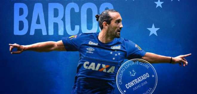 Hernán Barcos no continuará en el Cruzeiro de Brasil