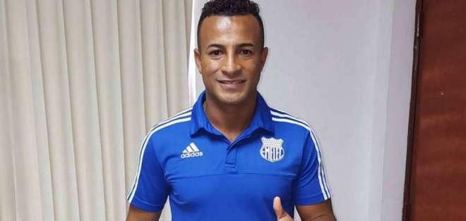 Pedro Quiñónez, figura del Club Sport Emelec.