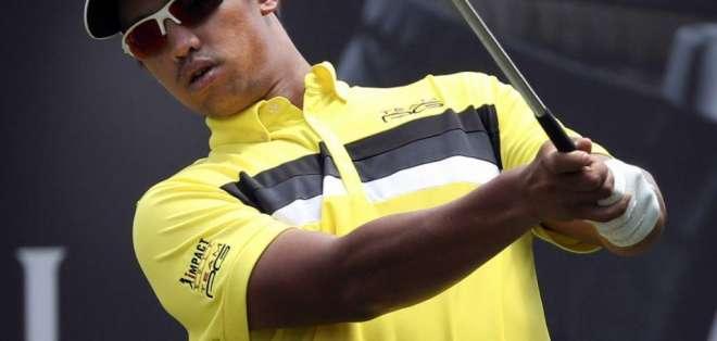 Arie Arawan, golfista nacido en Malasia.