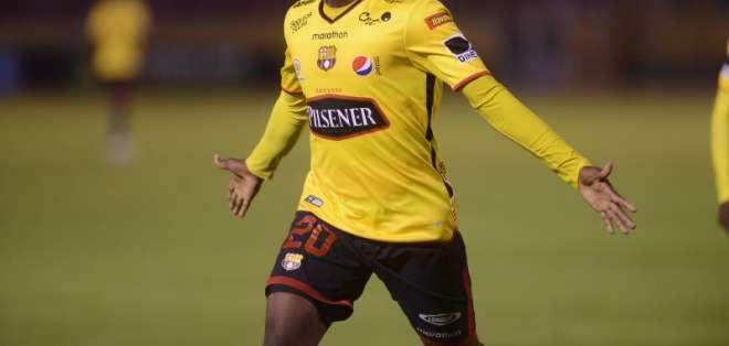 El volante ecuatoriano fichó por el equipo 'negriazul'. Foto: Archivo