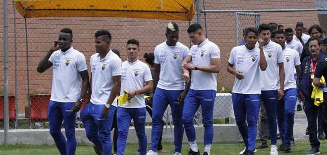 El extremo de la selección ecuatoriana sub-20 dijo que siempre ha sido fan 'torero'. Foto: API