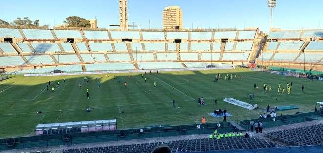 Estadio Centenario de Montevideo. Foto: Cuenta Twitter Comunicadores BSC