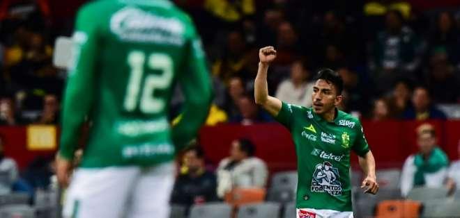 El ecuatoriano es uno de los goleadores del clausura 2019 de la Liga MX. Foto: RONALDO SCHEMIDT / AFP