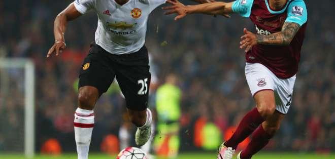 Antonio Valencia vs. el West Ham United.