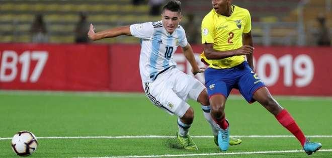 Ecuador derrotó al campeón del Sudamericano.