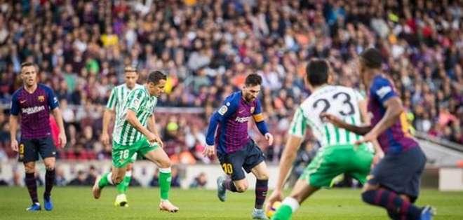 Messi, figura del FC Barcelona.