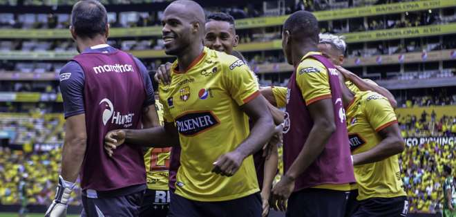 Los 'amarillos' superaron por 2-0 al 'ponchito rojo' en el estadio Monumental. Foto: API