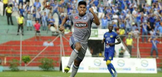 Bruno Vides, en su paso por Emelec.