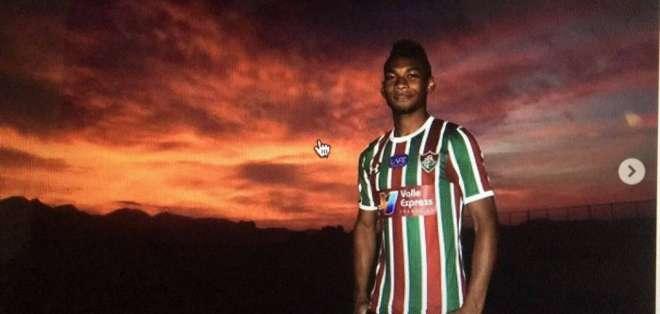 El volante llega proveniente de Fluminense aunque pertenece al Atalanta. Foto: Tomada de Instagram @brycabezas97