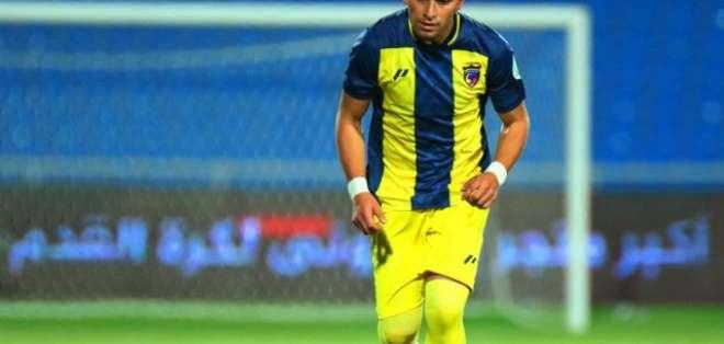 El volante ecuatoriano estuvo en el Al-Hazem FC de Arabia Saudita el año pasado. Foto: Archivo