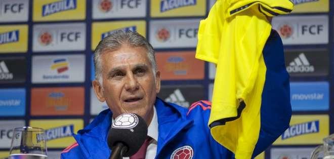 El entrenador portugués viene de ser entrenador de Irán. Foto: Diana Sanchez / AFP