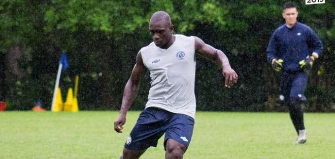 Segundo Castillo, jugador de Guayaquil City