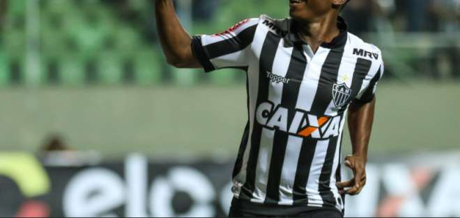 Juan Cazares, figura de Atlético Mineiro.