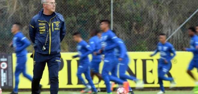 Jorge Célico, entrenador de la Sub 20.
