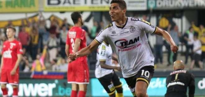 José Cevallos, jugador del Lokeren.