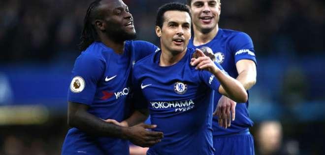 Jugadores del Chelsea.
