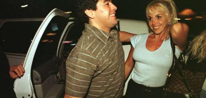 Ex esposa de Maradona