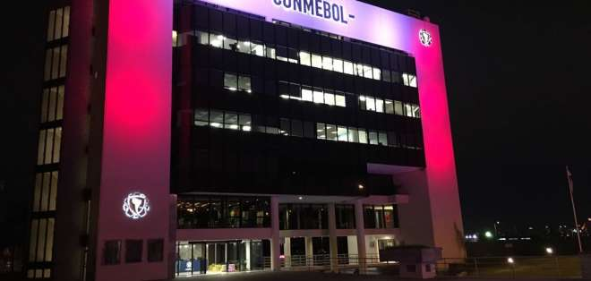 Edificio de la Conmebol.