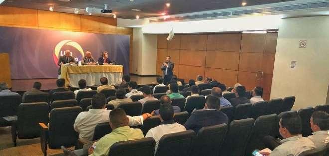 Consejo de Presidente de la LigaPro. Foto: Twitter LigaPro