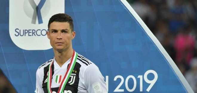El delantero portugués será condenado con una multa de 18,8 millones de euros. Foto: GIUSEPPE CACACE / AFP