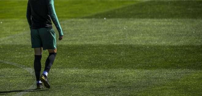 El delantero de Juventus se había dedicado a su carrera en el equipo italiano. Foto: PATRICIA DE MELO MOREIRA / AFP