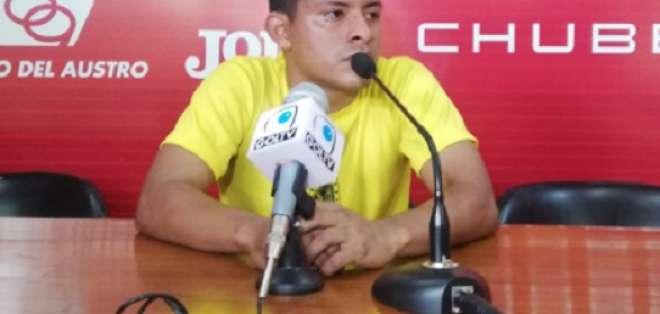 Jhon Jairo Rodríguez Monserrate, jugador del D. Cuenca.
