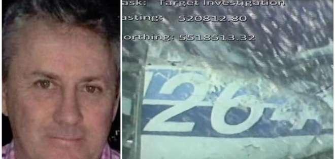 David Ibbotson, piloto que conducía la avioneta en el que encontraron el cuerpo de Emiliano Sala.