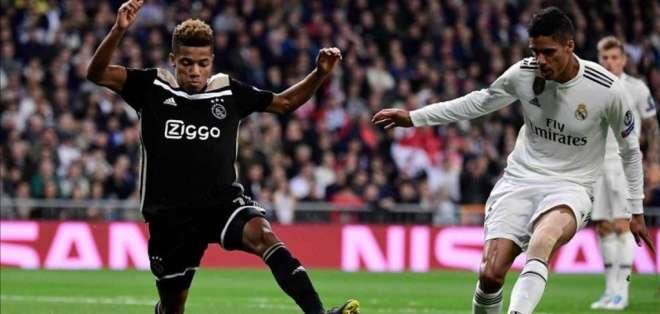 David Neres, jugador del Ajax de Holanda.